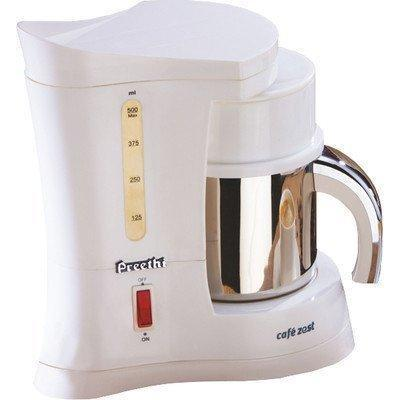 Preethi 450-Watt Cafe Zest White Coffee Maker get best offers deals free and coupons online at buythevalue.in