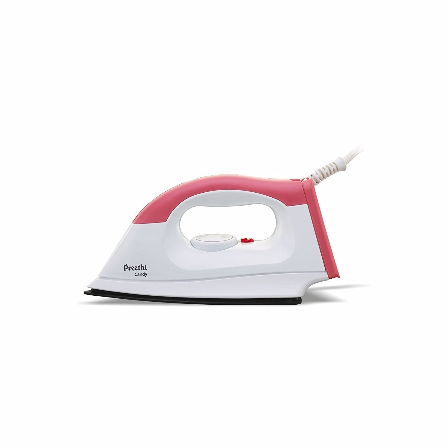 Preethi Candy 1000-Watt Pink-White Dry Iron get best offers deals free and coupons online at buythevalue.in