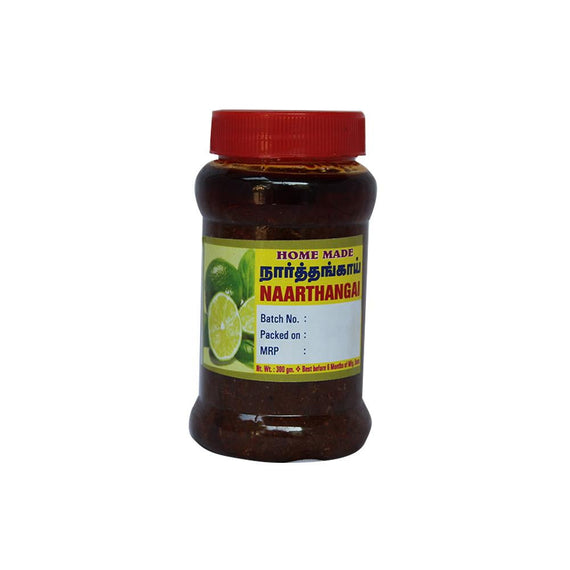 Kumbakonam Special Citron Pickle 300 gm - Buythevalue.in