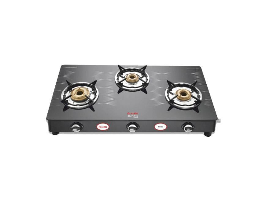 Preethi 3 Burner Electra 3b Ms Digital Gas Stove get best offers deals free and coupons online at buythevalue.in