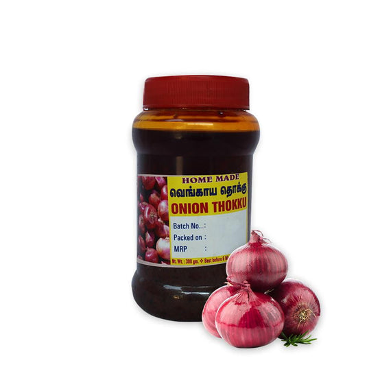 Kumbakonam Special Onion Pickle, 300 Gms - Buythevalue.in