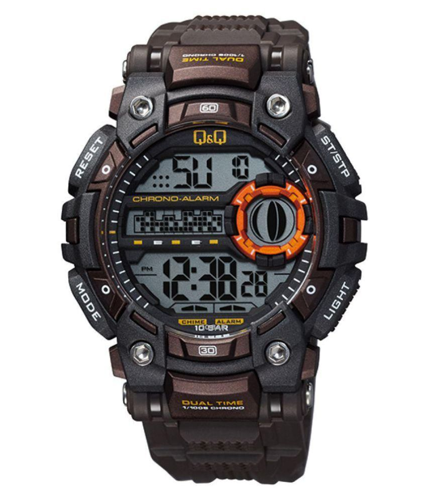 Q&Q Digital Men's Watch -M161J002Y get best offers deals free and coupons online at buythevalue.in