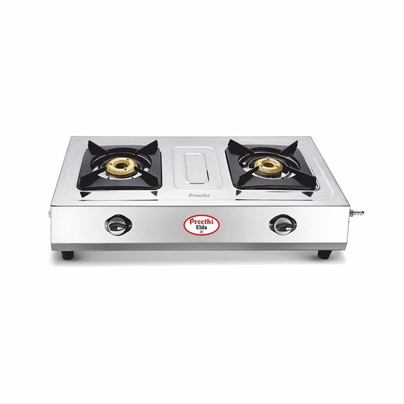 Preethi Blu Flame Elda Stainless Steel Manual Gas Stove get best offers deals free and coupons online at buythevalue.in