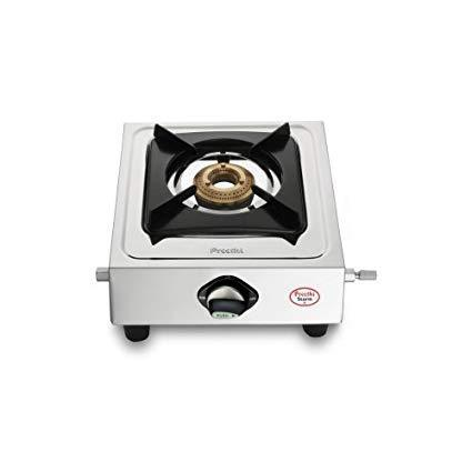 Preethi Strom Stainless steel Gas Stove get best offers deals free and coupons online at buythevalue.in