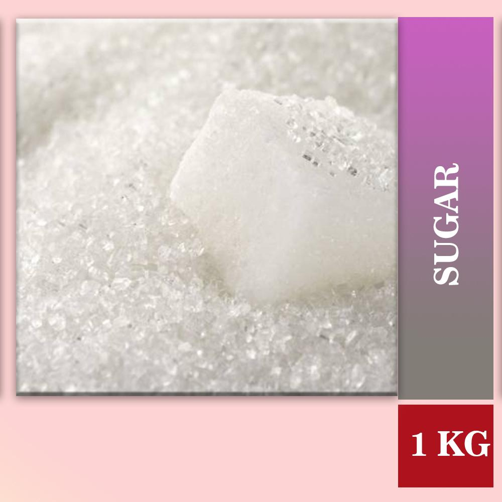 Sugar - Refined (Sarkarai)-1 Kg get best offers deals free and coupons online at buythevalue.in