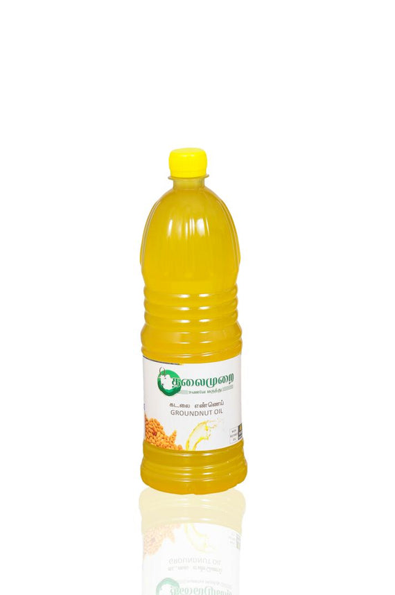 Thalaimurai Special Chekku Groundnut Oil 1lget best offers deals free and coupons online at buythevalue.in