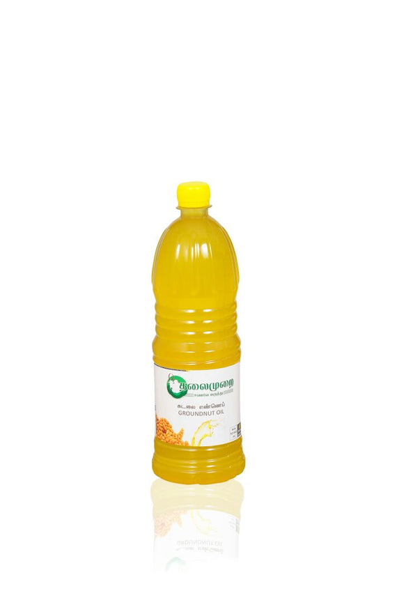 Thalaimurai Special Chekku Groundnut Oil 500 mlget best offers deals free and coupons online at buythevalue.in