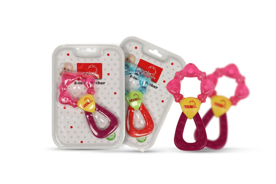 AppleBaby Water Filled Rattle Teether Blue get best offers deals free and coupons online at buythevalue.in
