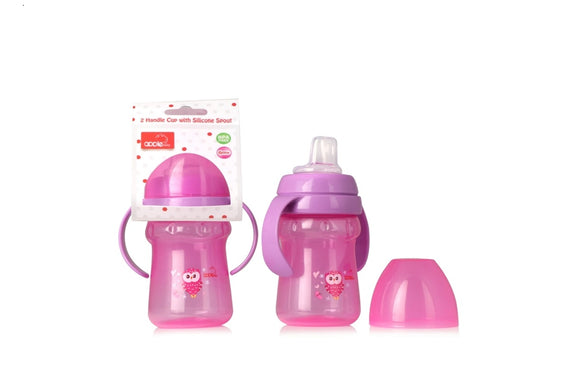 Apple Baby Sipper Pink-AC274 get best offers deals free and coupons online at buythevalue.in