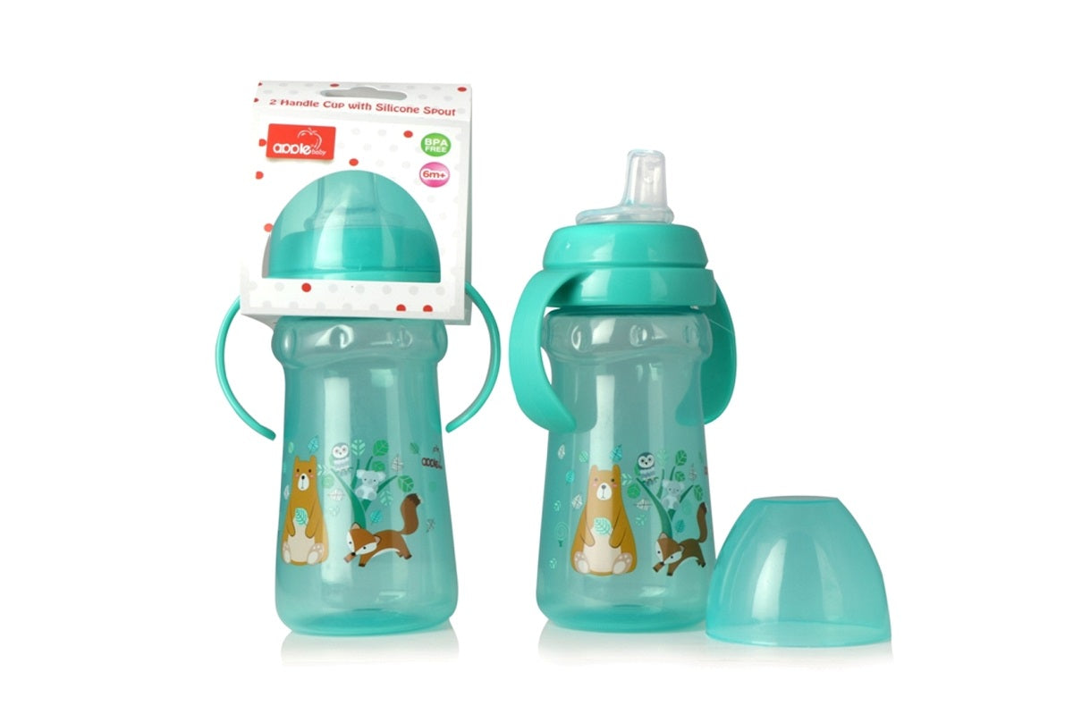 Apple Baby Sipper Green-AC275 get best offers deals free and coupons online at buythevalue.in