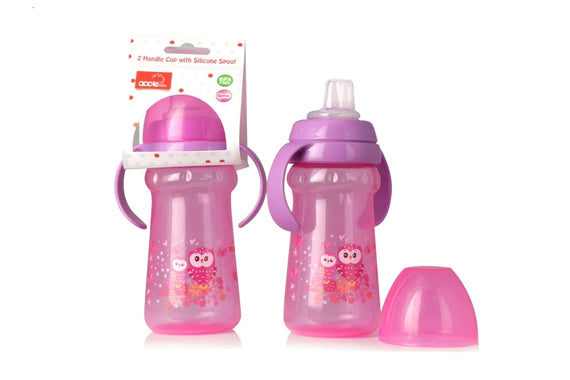 Apple Baby Sipper Pink-AC275 get best offers deals free and coupons online at buythevalue.in