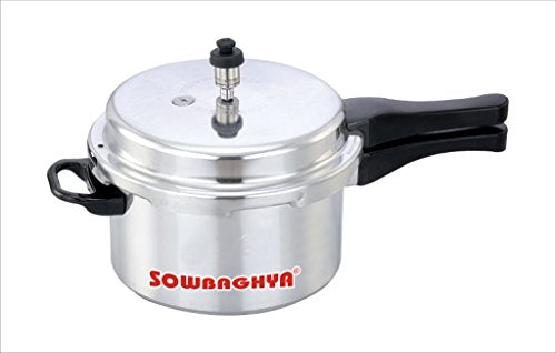 Sowbaghya 3 Ltr Aluminium ISI Pressure Cooker get best offers deals free and coupons online at buythevalue.in