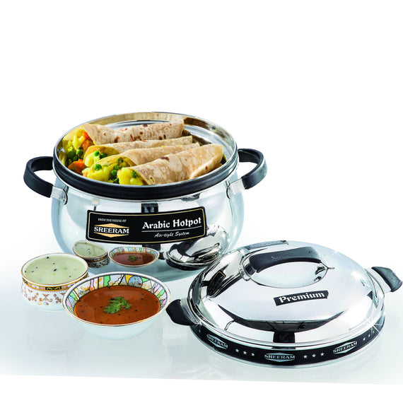 Sreeram Kitchen Extra Large 10000Ml Arabic Casserole get best offers deals free and coupons online at buythevalue.in