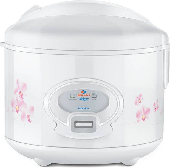 Bajaj Majesty RCX21 Deluxe Multifunction Cooker  1.8L Capacityget best offers deals free and coupons online at buythevalue.in