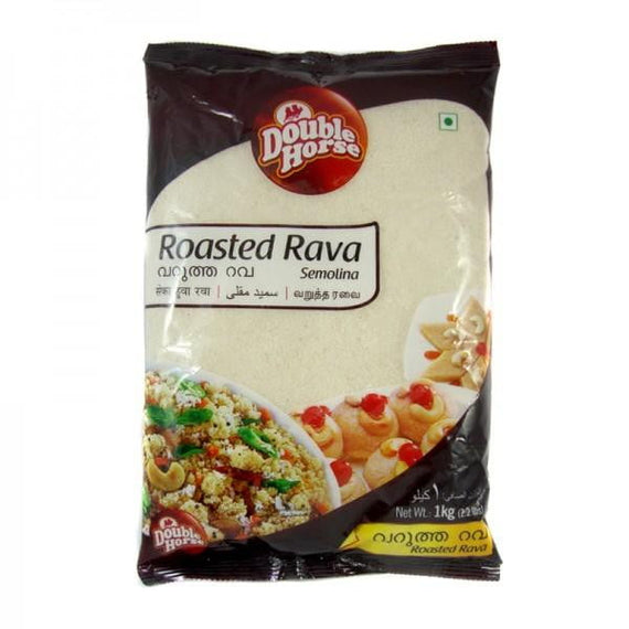 Double Horse Roasted Rava 500gm - Buythevalue.in