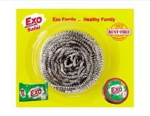 EXO Stainless Steel Scrubber - Buythevalue.in