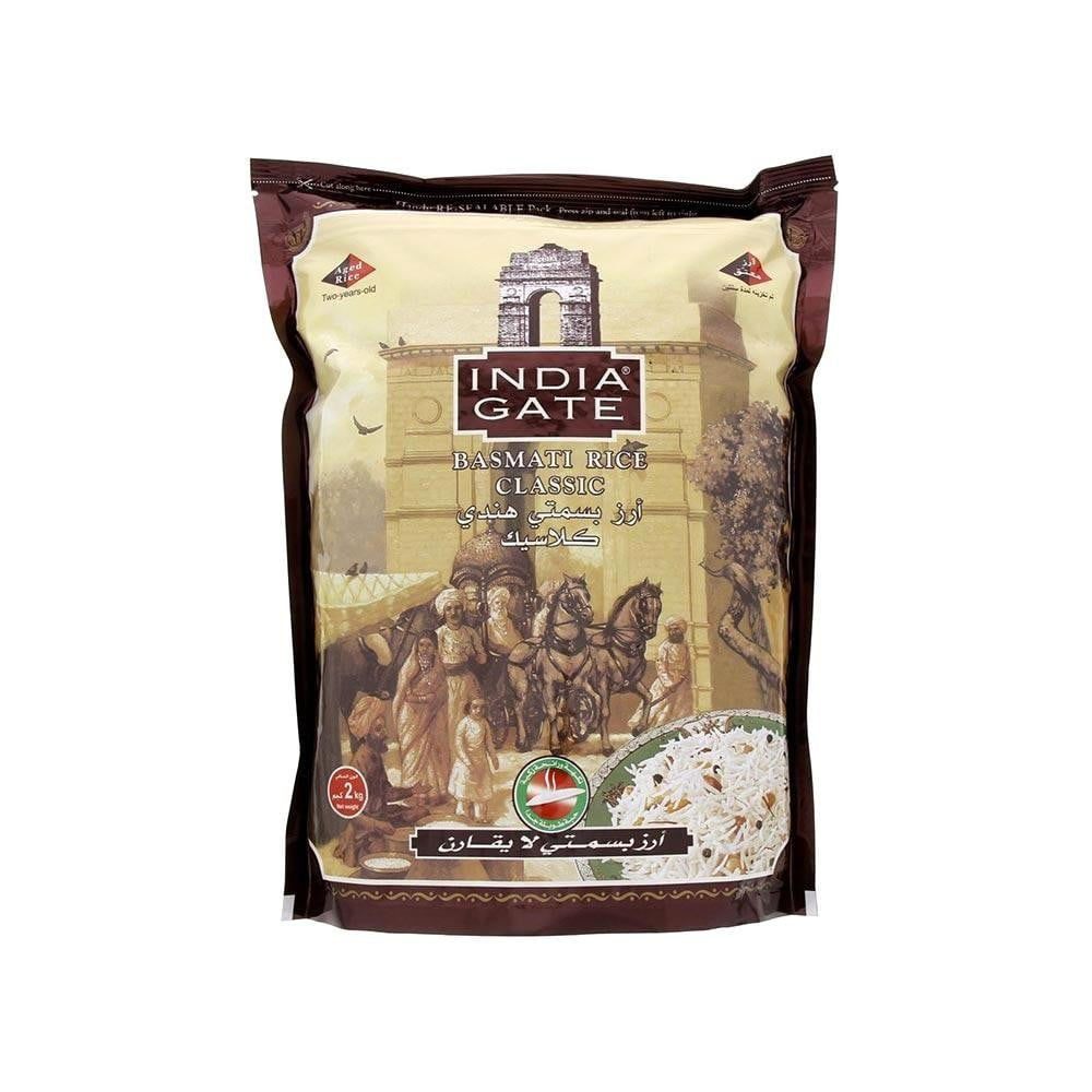 India Gate Basmati Rice Classic 1 kg - Buythevalue.in