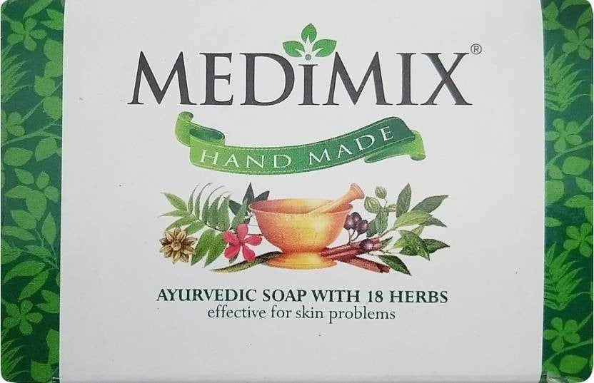 Medimix Bathing Soap Ayurvedic Classic 18 Herbs 125 gm - Buythevalue.in