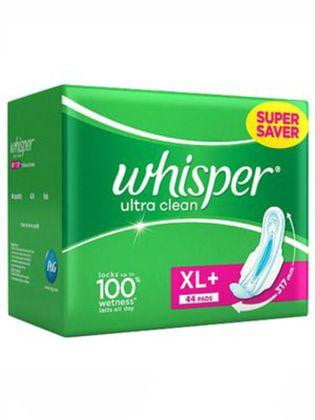 Whisper Sanitary Pads - Ultra Clean XL+ Wings - Buythevalue.in