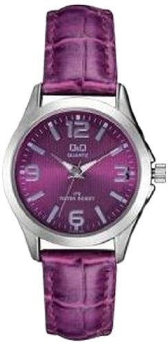 Q&Q Analog Purple Dial Women's Watch - C193J325Y get best offers deals free and coupons online at buythevalue.in