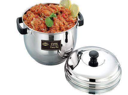 Sreeram Kitchen Medium Curry Pot get best offers deals free and coupons online at buythevalue.in
