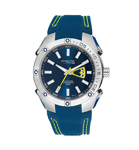 Q&Q Attractive Analog Blue Dial Men's Watch - DB24J312Y get best offers deals free and coupons online at buythevalue.in
