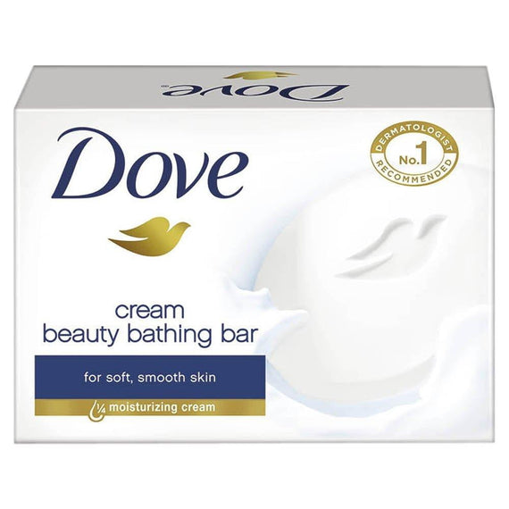Dove Cream Beauty Bathing Soap Bar 75 gm - Buythevalue.in