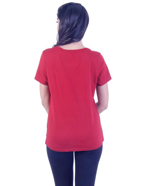 Joshuah's LEVIS Red T-Shirtget best offers deals free online at buythevalue.in