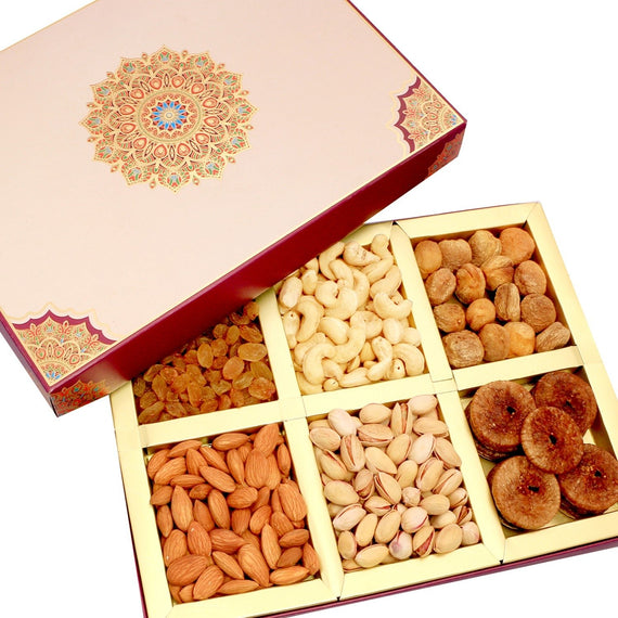 Diwali Special (B.Almonds, Cashew180, N.Kishmish , Apricot,Figs Bold, S.Pista) 900 g get best offers deals free and coupons online at buythevalue.in