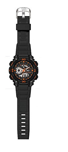 Q&Q Analog-Digital Black Dial Men's Watches - GW87J009Y get best offers deals free and coupons online at buythevalue.in