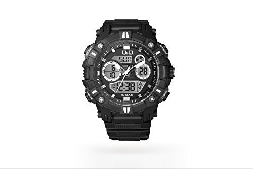 Q&Q Dual Time Analog-Digital Men's Watch - GW88J001Y get best offers deals free and coupons online at buythevalue.in