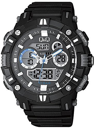 Q&Q Dual Time Analog-Digital Men's Watch - GW88J002Y get best offers deals free and coupons online at buythevalue.in