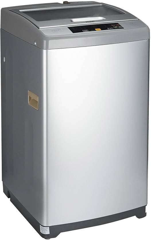 Haier 6.2 kg Fully Automatic Top Load Washing Machine Silver get best offers deals free and coupons online at buythevalue.in