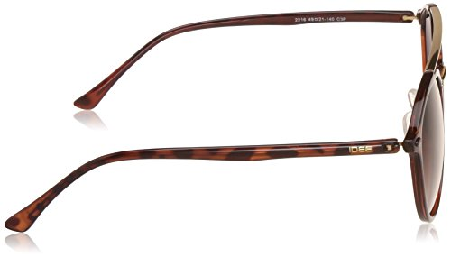 IDEE Medium (Size-49) Brown Gradient Polarized Round Unisex Sunglasses - IDS2216C3PSG get best offers deals at buythevalue.in