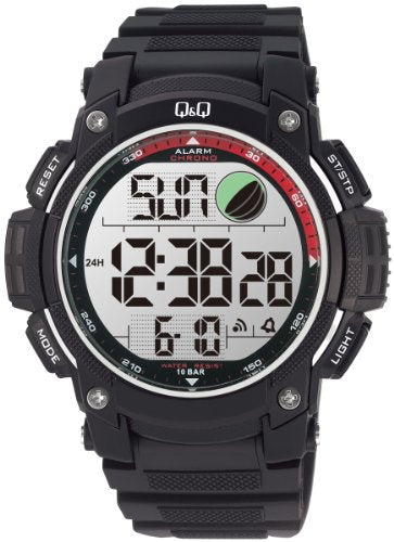 Q&Q Standard Dual Time Digital White Dial Men's Watch M119J004Y get best offers deals free online at buythevalue.in