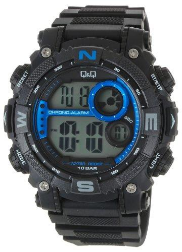Q&Q Regular Digital Grey Dial Men's Watch - M133J003Y get best offers deals free and coupons online at buythevalue.in