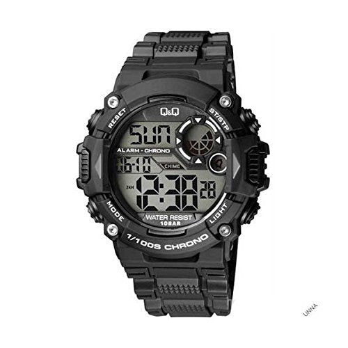 Q&Q Digital Grey Dial Men's Watches - M146J001Y get best offers deals free and coupons online at buythevalue.in