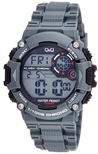 Q&Q Digital Grey Dial Men's Watches - M146J002Y get best offers deals free and coupons online at buythevalue.in