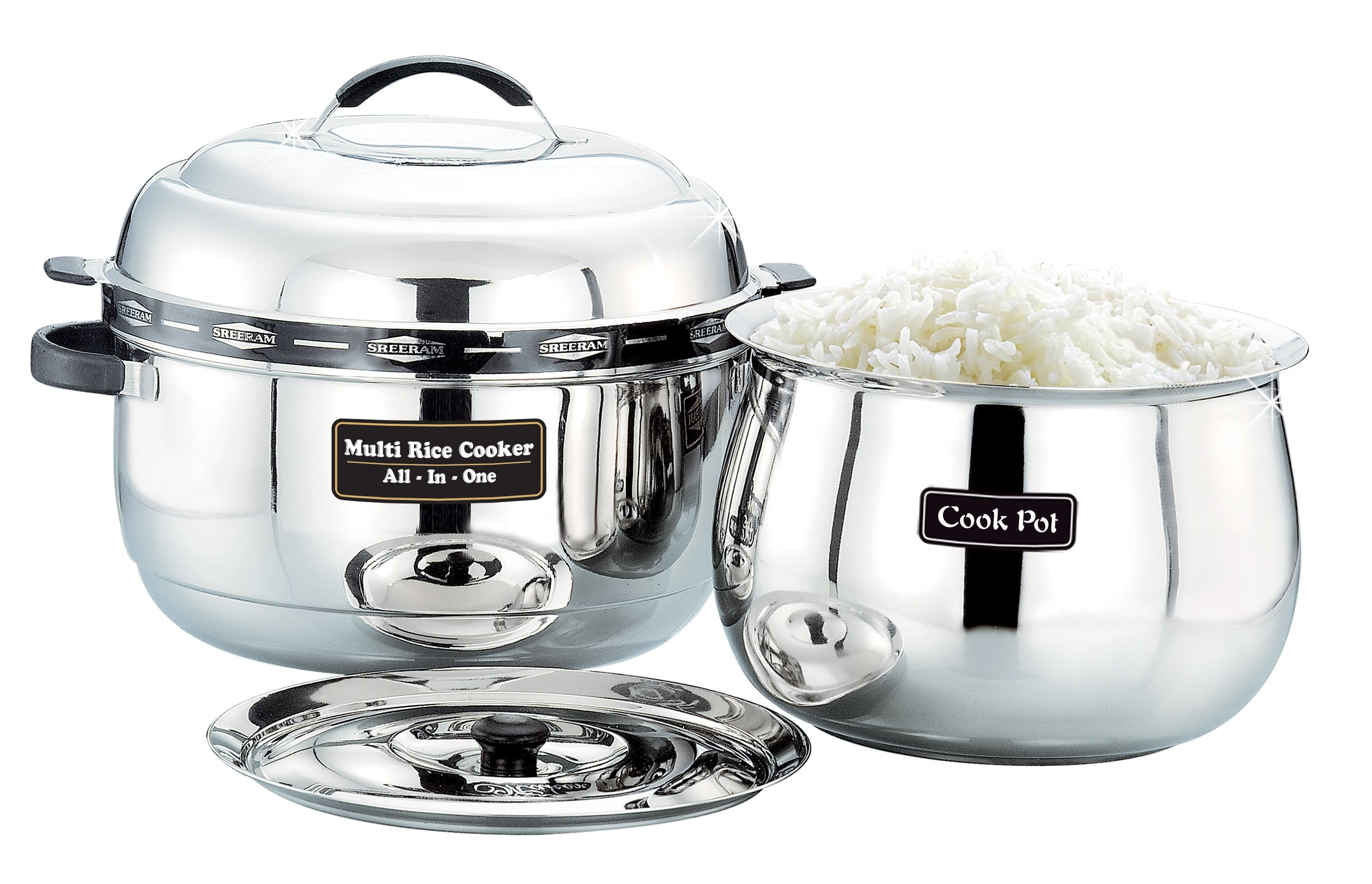 Sreeram Kitchen Extra Large Multi Rice Cooker get best offers deals free and coupons online at buythevalue.in