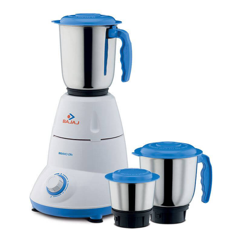 Bajaj Bravo Dlx 3 jar Mixer Grinder get best offers deals free and coupons online at buythevalue.in