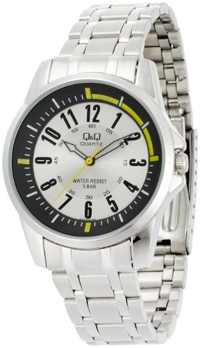 Q&Q Standard Analog White Dial Men's Watch - Q708J214Y get best offers deals free and coupons online at buythevalue.in