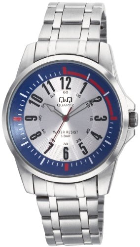 Q&Q Standard Analog White Dial Men's Watch Q708J224Y get best offers deals free and coupons online at buythevalue.in