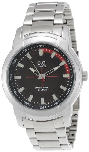 Q&Q Analog Black Dial Men's Watch - Q746N202Y get best offers deals free and coupons online at buythevalue.in