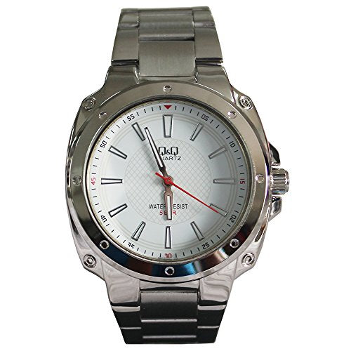 Q&Q Analog White Dial Men's Watch-Q972J201Y get best offers deals free and coupons online at buythevalue.in