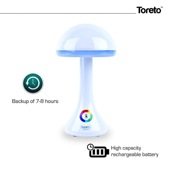 Toreto Rechargeable Living Color Light Led Lamp
