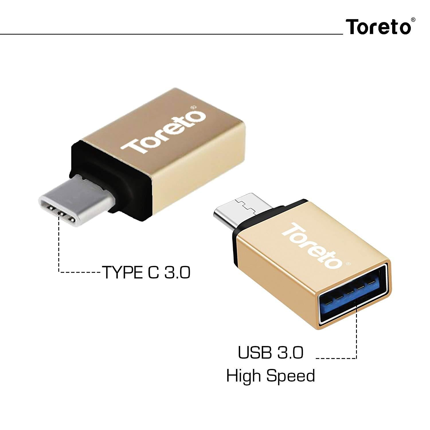 Toreto Fetch Type C 3-0 Otg Card Reader