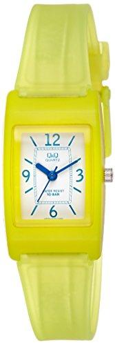 Q&Q Regular Analog White Dial Children's Watch - VP33J020Y get best offers deals free and coupons online at buythevalue.in