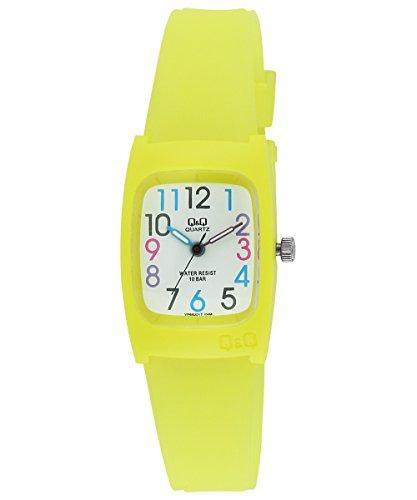 Q&Q Regular Analog White Dial Children's Watch - VP65J017Y get best offers deals free and coupons online at buythevalue.in