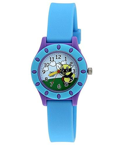 Q&Q Regular Analog Multi-Color Dial Children's Watch - VQ13-002 get best offers deals free online at buythevalue.in
