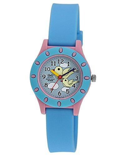 Q&Q Regular Analog Multi-Color Dial Children's Watch - VQ13-008 get best offers deals free online at buythevalue.in